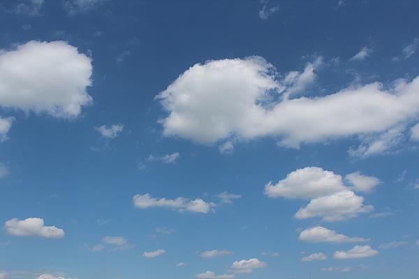 Der bayrische Himmel über Merching
