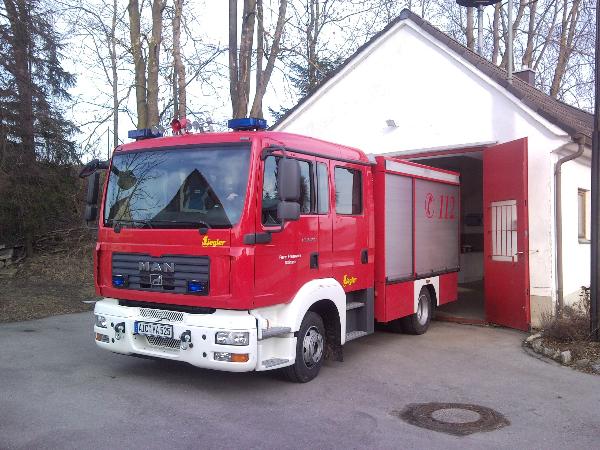 Feuerwehrauto Steinach