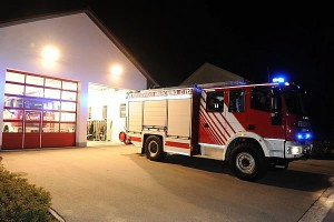 Fahrzeug der freiwilligen Feuerwehr Merching