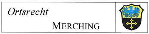 Ortsrecht Gemeinde Merching