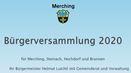Bürgerversammlungen entfallen - Informationen online abrufbar